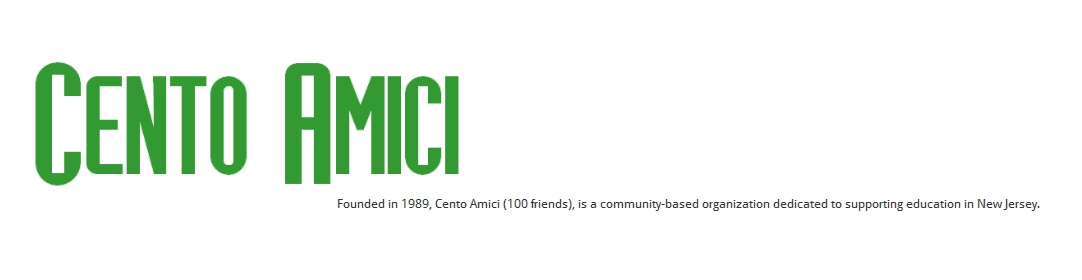 Cento Amici, a recognized 501(c)(3) non-profit organization (Tax ID 22-3800065)